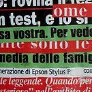 BLa BLa BLa DiSPeRSioNe Di PaRoLe e LeTTeRe, iTaLia oGGi! by Enzo Correnti