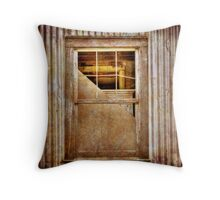 Shed Window Throw Pillow
