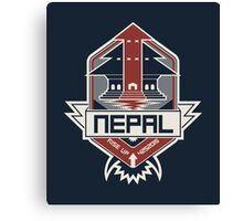 Nepal, Rise Up Canvas Print