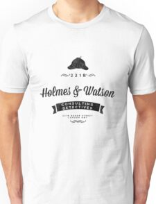 Holmes and Watson Consulting Unisex T-Shirt