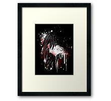 DEADBUNNEH - vam·pir Framed Print