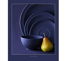 PEAR & POTTERY Photographic Print