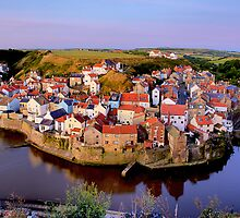 Staithes by Stewart Laker