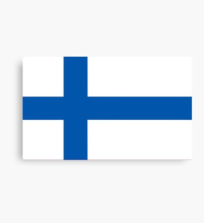 Finland, national id Canvas Print