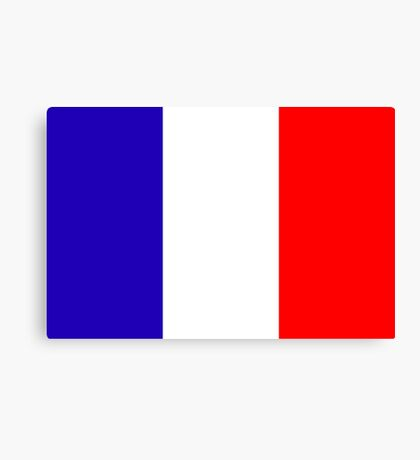 France, national id Canvas Print
