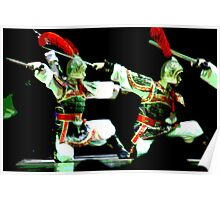 Chinese Warriors Posterized Poster
