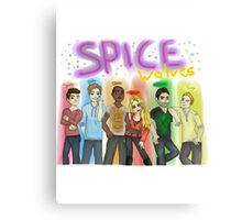 SPICE WOLVES Canvas Print