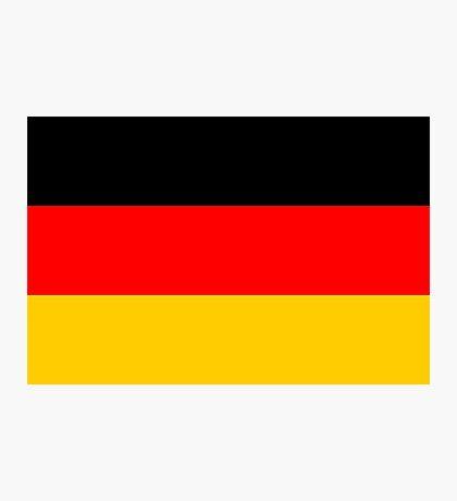 Germany, national id Photographic Print