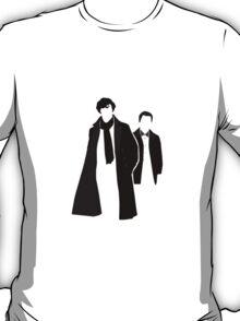 Sherlock Minimal Art  T-Shirt