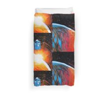 Time Travel Tardis Duvet Cover