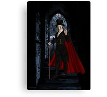 Come Join Me .. whispers the vampyre Canvas Print