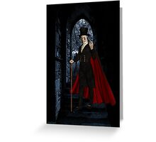 Come Join Me .. whispers the vampyre Greeting Card