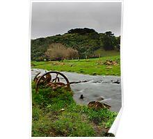 Farmer's Stream Poster