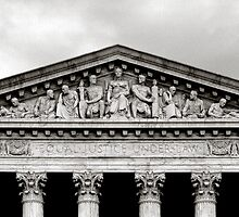 United States Supreme Court in B&W by Carol M.  Highsmith