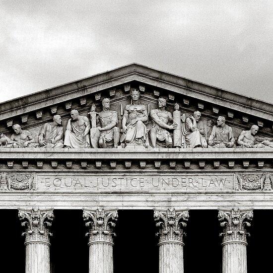United States Supreme Court in B&W by Carol M.  Highsmith