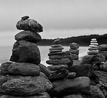 Rock Stack Wall by JBSmith