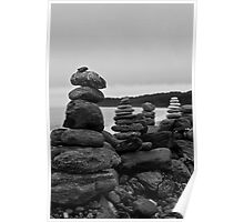 Rock Stack Wall Poster