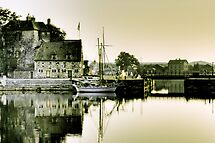 Early Morning, Honfleur, France by Anna Shaw
