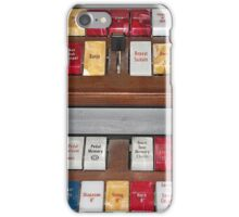 Keeping Tabs on Possibilities iPhone Case/Skin