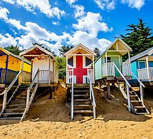 Union Jack Beach Hut by Chris Thaxter