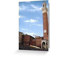 """Palio"" Time Greeting Card"