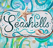 Seashells III by Jan Marvin by Jan Marvin