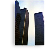 Twin Towers Canvas Print