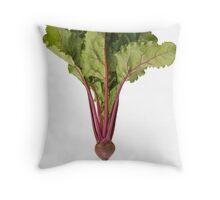 Red Beet Throw Pillow