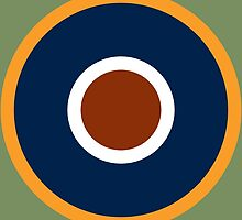 Royal Air Force - Historical Roundel Type C.1 1942 - 1947 by wordwidesymbols