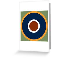 Royal Air Force - Historical Roundel Type C.1 1942 - 1947 Greeting Card