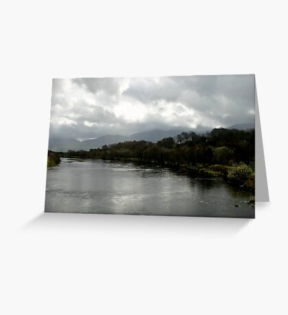 Laune River  Greeting Card