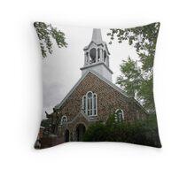 La Plus Jolie Eglise Du Nord Throw Pillow