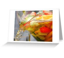 pimms Greeting Card