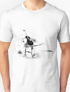 Bench white Unisex T-Shirt