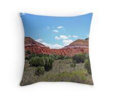 Palo Duro Canyon State Park Throw Pillow