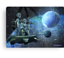 Alien Invasion Canvas Print