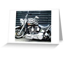 Harley Davidson Greeting Card
