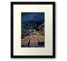 Bowness Walkway Framed Print