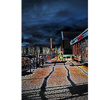 Bowness Walkway Photographic Print
