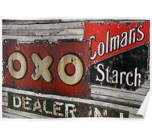 Oxo Sign Poster