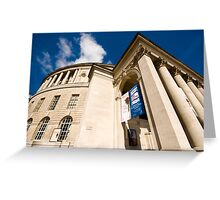 Manchester Central Library Greeting Card