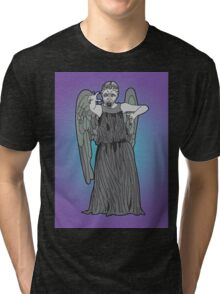 Weeping Angel Tri-blend T-Shirt
