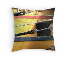 Jamestown Ship Throw Pillow