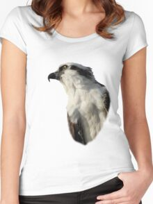 Focused Osprey Women's Fitted Scoop T-Shirt