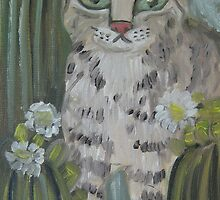 AZ Bobcat by sharonkfolkart