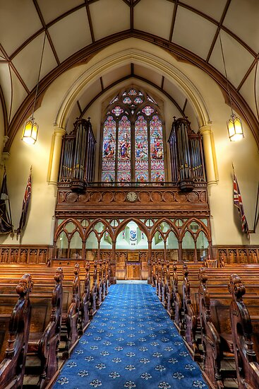 Scot's Church • Melbourne • Australia by William Bullimore