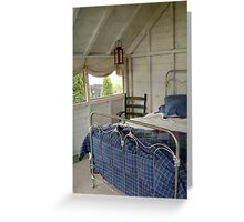 Summer Sleeping Quarters Greeting Card