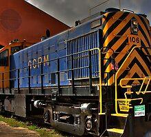Locomotive 106 by Tomas Abreu