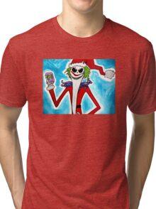Jack-Joke Santa Tri-blend T-Shirt