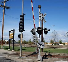RR Crossing, San Pedro, CA by gailrush
